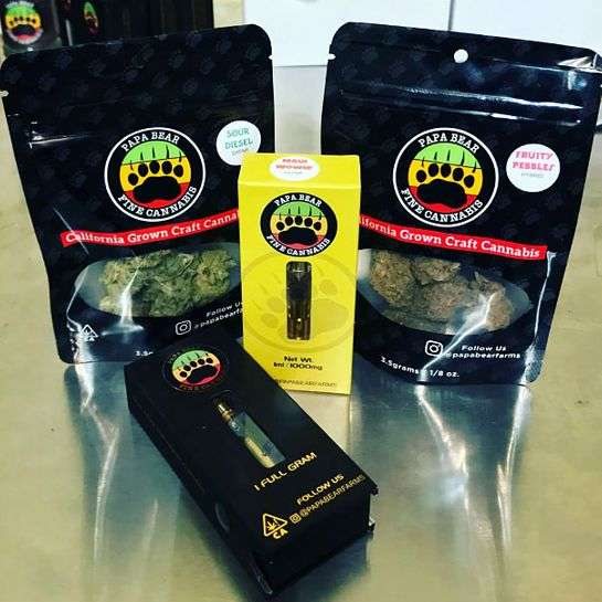 Papa Bear Farms And Better Living Delivery Legal San Luis Obispo Ca Delivery Mama S Ganja